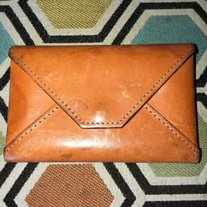 JCrew Leather Card Holder